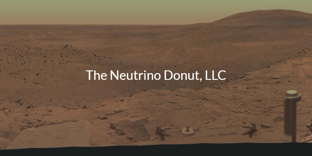 Neutrino Donut Logo